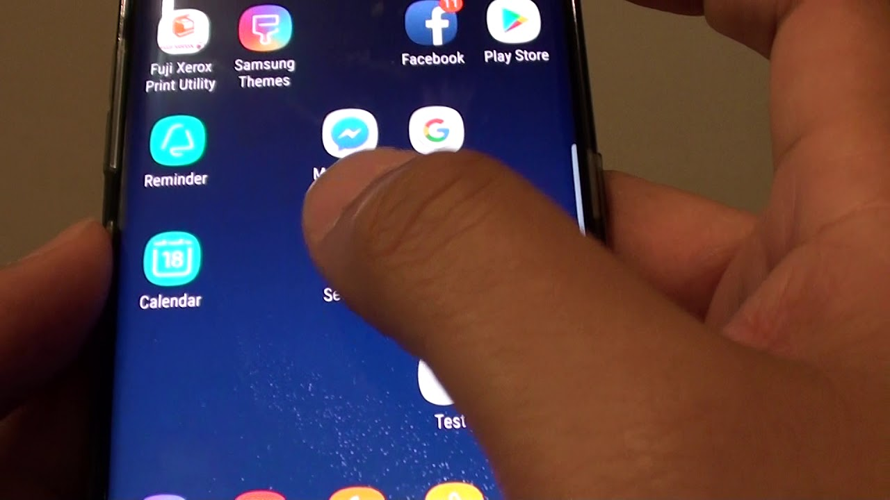 Samsung Galaxy S8: How to Enable / Disable Direct Share of Content