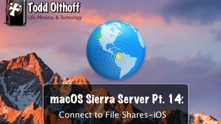 macOS Server Part 14: Connect to File Shares-iOS