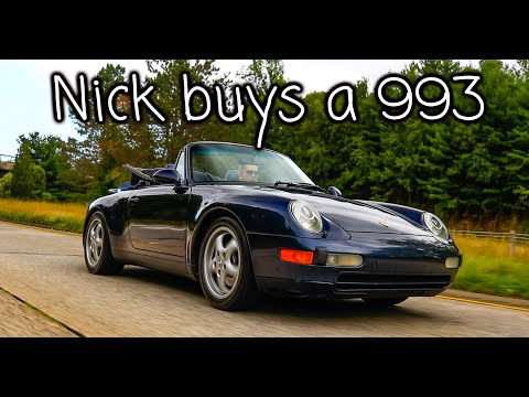I Have Purchased A 993 Generation Porsche 911