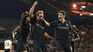 Memorable Match ► Fulham 1 vs 4 Manchester City - 21 Nov 2010   English Commentary