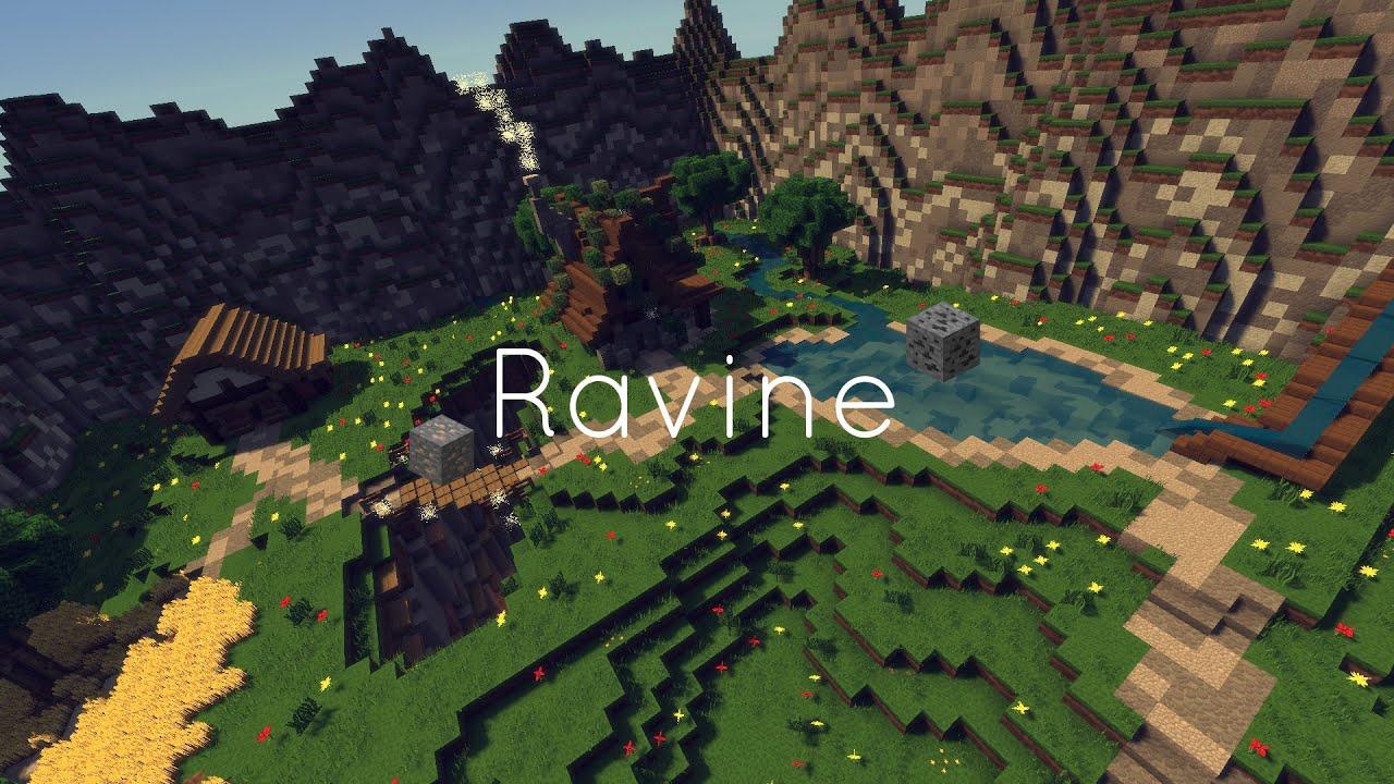 how to find a ravine in minecraft