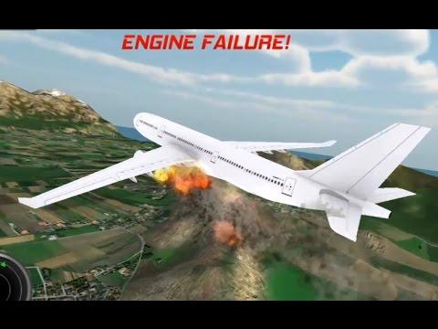 Airplane Flying Flight Pilot Simulator Games - Episode 5 Professional Arbus 333 Fire