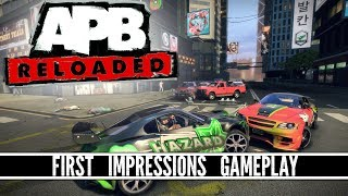 APB: Reloaded - Enforcer Gameplay - FIRST IMPRESSIONS
