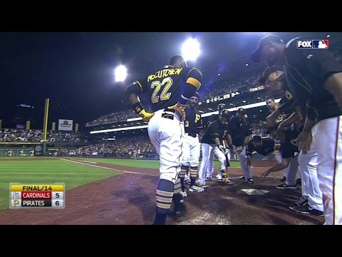 McCutchen belts a walk-off homer in the 14th