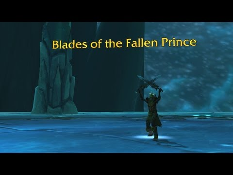 The Story of Blades of the Fallen Prince [Artifact Lore]