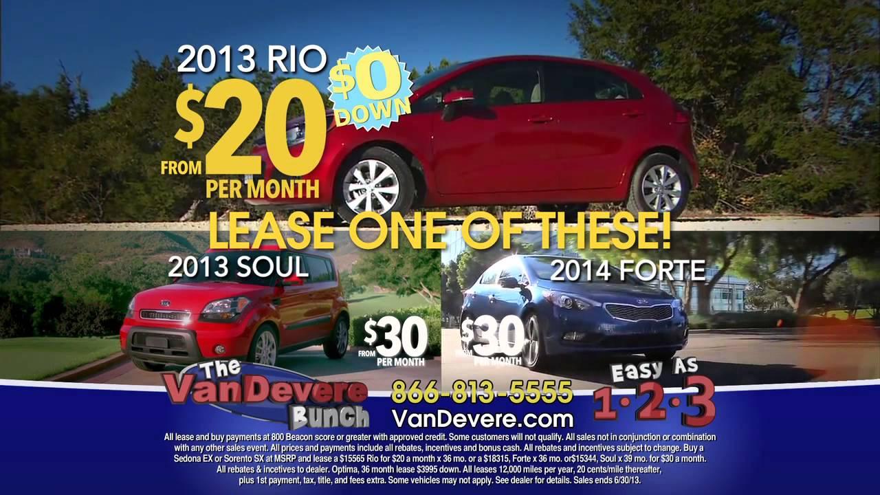 Vandevere Kia Buy One Get One Sale Rio Forte Soul