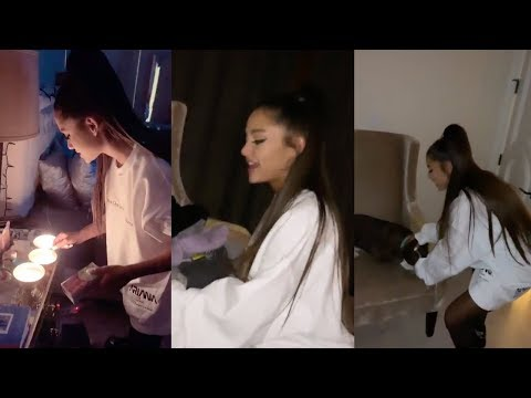 Ariana Grande's Bedroom (2019) | Instagram Stories
