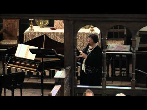 Sarabande from Partita for Flute Solo in a minor, BWV 1013 (recorder) - Live in Historic St. Luke