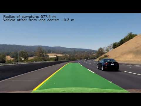 Advanced Lane Detection w/ Computer Vision