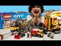Unboxing NEW 2018 Lego City Mining Set Mining Experts Site 60188 with Dump Truck Grinder/Crusher