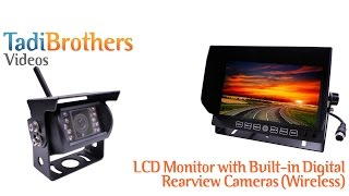wireless backup camera system with digital built in antenna from www tadibrothers com