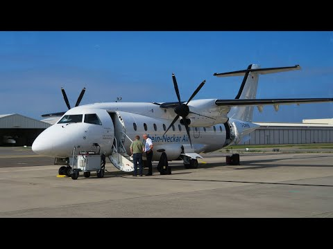 Dornier Do-328 а/к Rhein-Neckar Air | Рейс Берлин - Мангейм