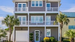 Custom Built Water-View Residence in Atlantic Beach, North Carolina
