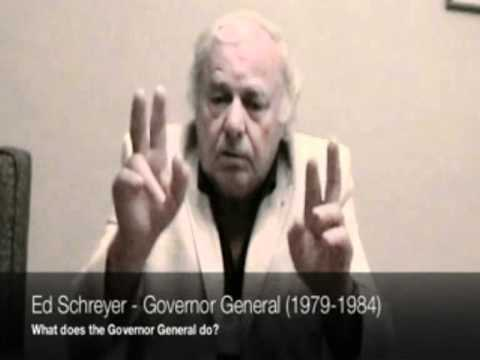 Schreyer on the role of Governor General