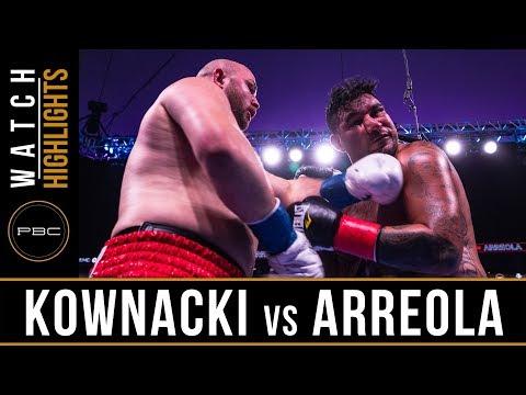 Kownacki vs Arreola HIGHLIGHTS: August 3, 2019 — PBC on FOX