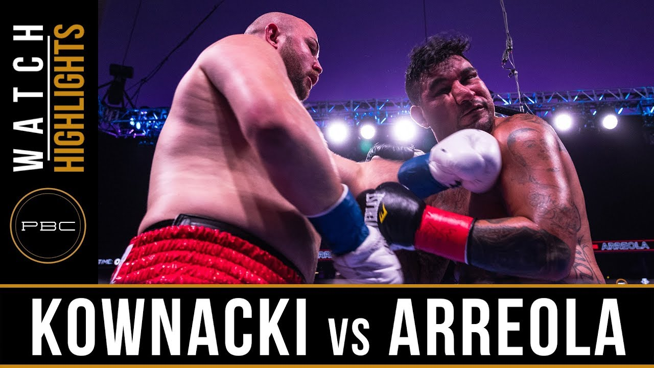 Kownacki vs Arreola HIGHLIGHTS: August 3, 2019 — PBC on FOX