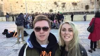 Селфи-тур. Израиль 2015. Моргуновы в Израиле.