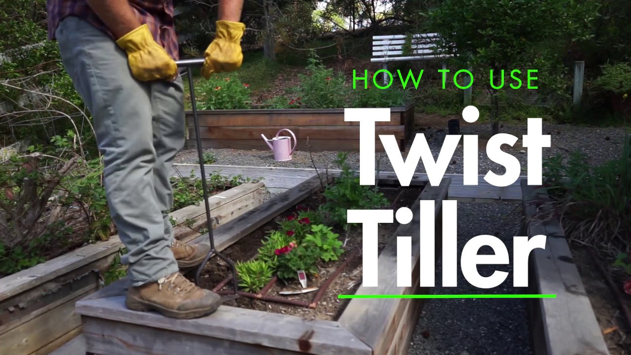 The Yard Butler Twist Tiller Youtube