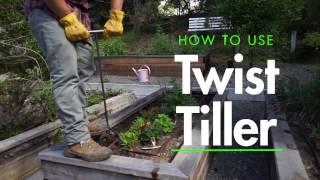 The Yard Butler Twist Tiller