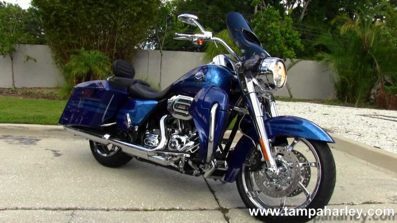 Used 2013 Harley Davidson CVO Road King Motorcycle for Sale - YouTube