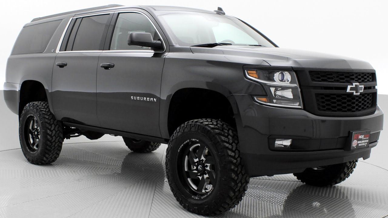 Lifted 2016 Chevrolet Suburban LT - Luxury Lifted Trucks ...