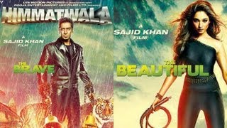 Ajay Devgn, Tamannaah Bhatia And Sajid Khan at 'Himmatwala' Trailer launch