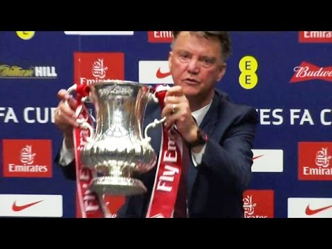 Crystal Palace 1-2 Manchester United - Defiant Louis van Gaal Proud Of FA Cup Triumph