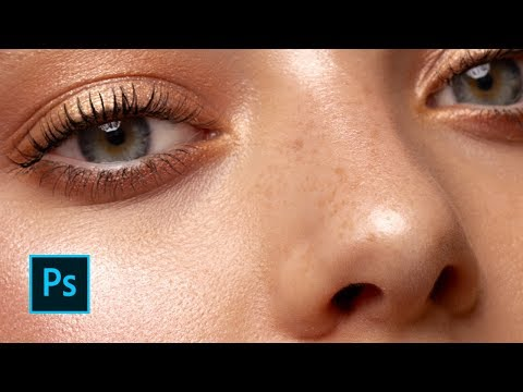 How to Dodge and Burn - Skin Retouching Tutorial for Beauty Photography // Photoshop CC