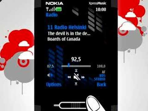 Nokia 5610 Music Player & Slider