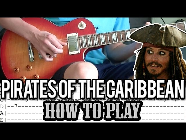 Guitar guitar tabs 007 theme song : Pirates Of The Caribbean - Theme Song Guitar Lesson (With Tabs ...