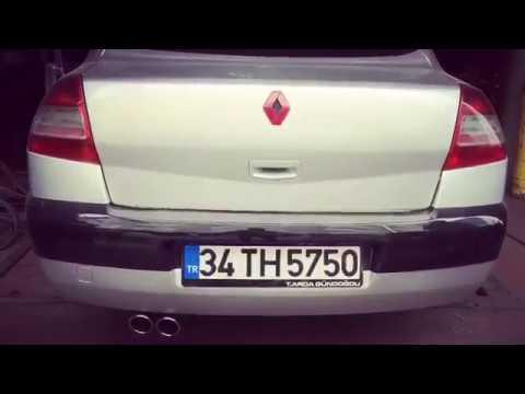 Renault Megane 2 1.5 dCi, Dizel Egzoz Sesi