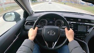 Toyota camry 3.5 POV test drive