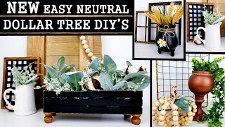 EASY DOLLAR TREE DIY'S | NEW HOME DECOR IDEAS 2020 | FALL DIY'S