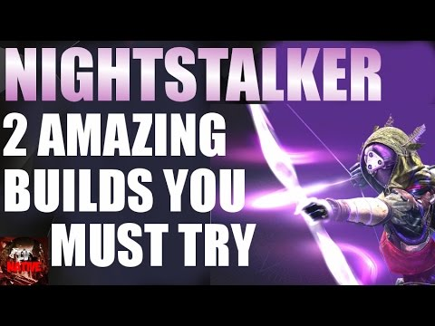 Destiny Nightstalker Build | Hunter Guide | Destiny PvP Tips & Tricks | (Rise of Iron)