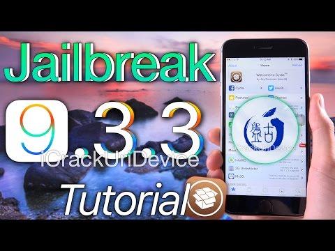 Jailbreak iOS 9.3.3 PANGU! Windows & Mac - English App