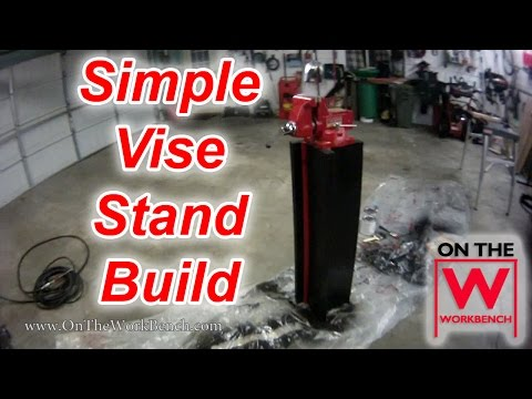 Building a Simple & Cheap Vise Stand