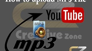 how to upload mp3 file on youtube (in urdu and hindi)