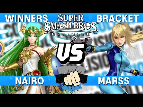 Smash Ultimate Tournament Set - Nairo (Palutena) vs Marss (Zero Suit Samus) - Collision 2019 thumbnail