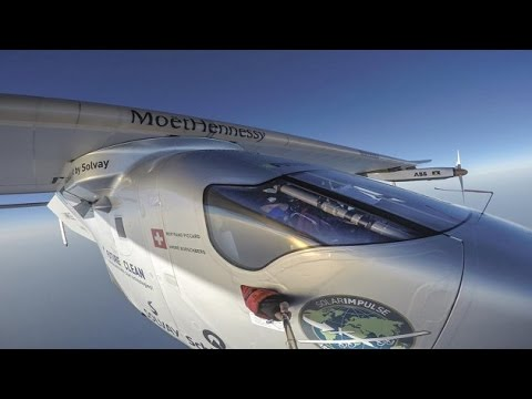Aircraft Solar Impulse 2  completes around the world solar flight