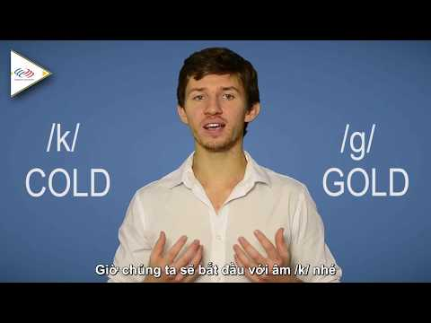 Học phát âm tiếng Anh cùng Langmaster - Pronunciation Guide: k & g [Phát âm tiếng Anh chuẩn #1]