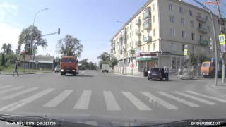 авария в г пенза на перекрестке улиц максима горького и урицкого