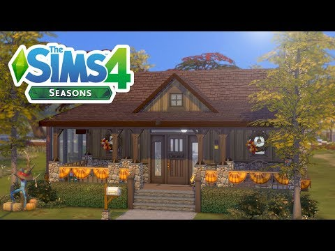 SEASONS AUTUMN HOUSE // The Sims 4: Speed Build