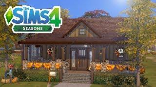 SEASONS AUTUMN HOUSE // The Sims 4: Speed Build