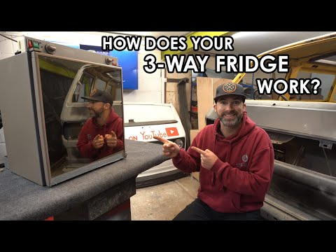 HOW DOES A 3-WAY CAMPER FRIDGE WORK? Magic, Voodoo Or Chemistry? Absorbtion Fridge In Your Camper.
