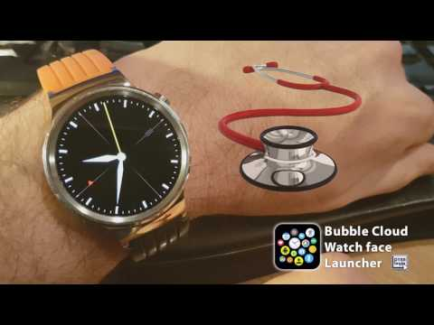 Nursing watch face for medical professionals, doctors (Android Wear 2.0)