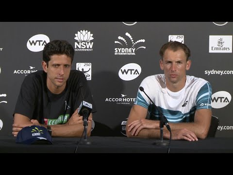 Łukasz Kubot & Marcelo Melo Press Conference (Final) | Sydney International 2018