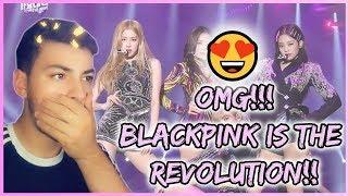 Gambar cover BLACKPINK - 'SOLO' + '(DDU-DU DDU-DU)' + 'FOREVER YOUNG' in 2018 SBS Gayodaejun | REACTION