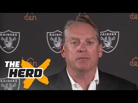 Jack Del Rio is bringing back the Raiders' winning ways  THE HERD FULL