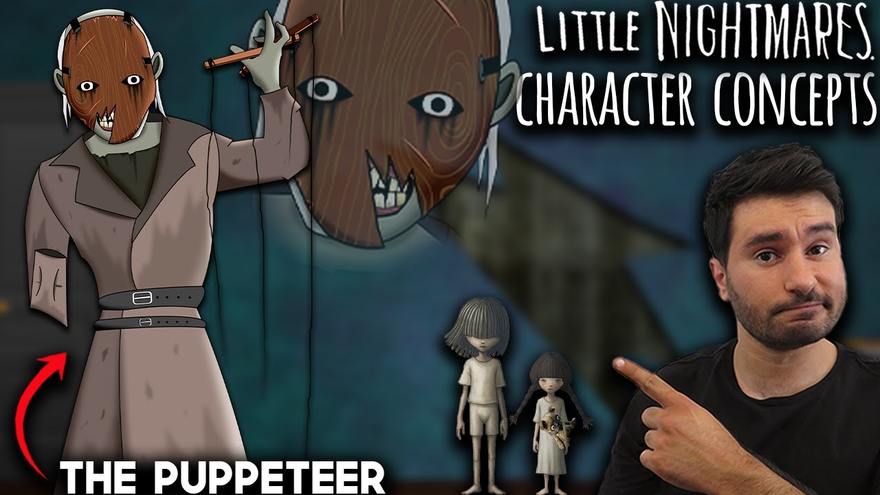What Needs To Be In Little Nightmares   The Puppeteer   Little Nightmares 3   Character Concepts