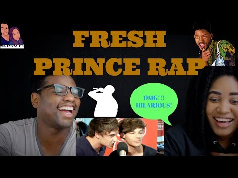 One Direction Perform The Fresh Prince of Bel-Air| REACTION